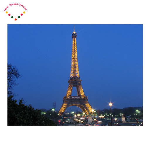 5d diy diamant schilderen strass kit diamant international embleem schilderen porches scenic Eiffeltoren in Parijs, frankrijk
